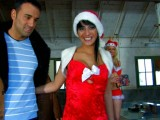 Vidéo porno mobile : Gangbang at Santa Claus's workshop